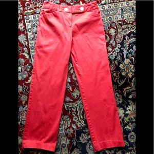 Beautiful coral pants by George in size 4